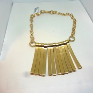 Stephanie Kantis Seagrass Stick Bib Necklace $645.